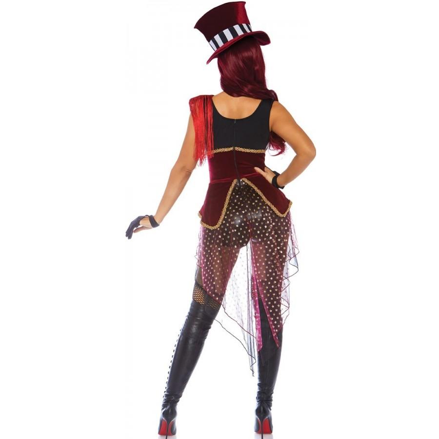 Daring Lion Tamer Womens Circus Ringmaster Halloween Costume