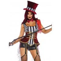 Daring Lion Tamer Womens Circus Costume
