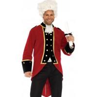 Mens Regency Velvet Coat
