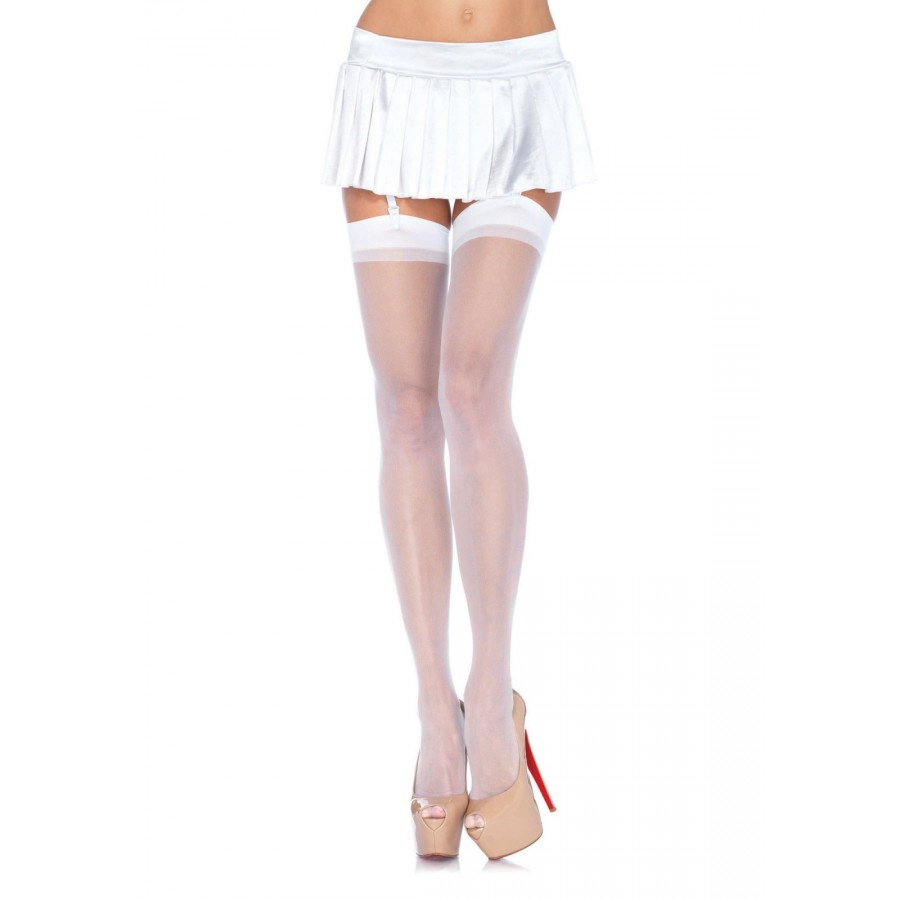 5b8642ca52b Sheer Garter Stockings - Pack of 3 at Cosplay Costume Closet Halloween  Costume Shop
