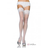 Sheer Stay Up Thigh High Stockings