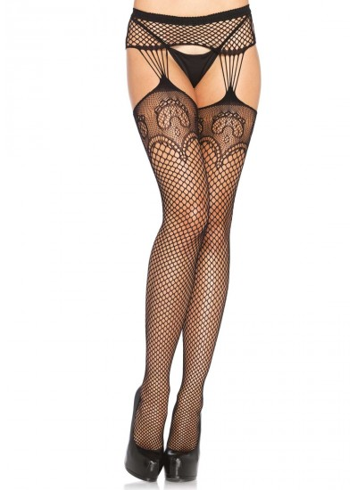 Duchess Lace Net Suspender Stockings  - Pack of 3 at Cosplay Costume Closet Halloween Costume Shop, Halloween Cosplay Costumes | Kids, Adult & Plus Size Halloween Costumes