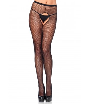 Fishnet Crotchless Pantyhose  - Pack of 3 Cosplay Costume Closet Halloween Shop Halloween Cosplay Costumes | Kids, Adult & Plus Size Halloween Costumes