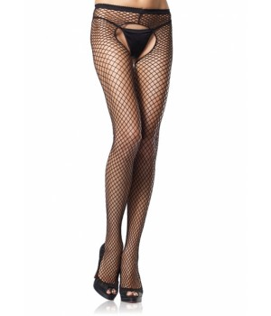 Industrial Net Crotchless Pantyhose  - Pack of 3 Cosplay Costume Closet Halloween Shop Halloween Cosplay Costumes | Kids, Adult & Plus Size Halloween Costumes