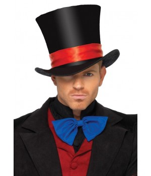 Mens Oversized Velvet Top Hat Cosplay Costume Closet Halloween Shop Halloween Cosplay Costumes | Kids, Adult & Plus Size Halloween Costumes
