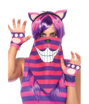 Cheshire Cat Bandana Costume Mask Cosplay Costume Closet Halloween Shop Halloween Cosplay Costumes | Kids, Adult & Plus Size Halloween Costumes
