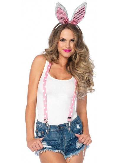 Bunny Sparkle Costume Set at Cosplay Costume Closet Halloween Shop, Halloween Cosplay Costumes | Kids, Adult & Plus Size Halloween Costumes