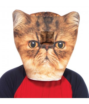 Grumpy Cat Foam Mask Cosplay Costume Closet Halloween Shop Halloween Cosplay Costumes | Kids, Adult & Plus Size Halloween Costumes