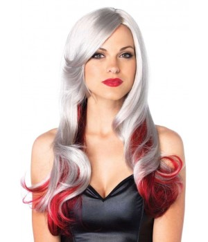 Allure Multi Color Wig with Color Tips Cosplay Costume Closet Halloween Shop Halloween Cosplay Costumes | Kids, Adult & Plus Size Halloween Costumes