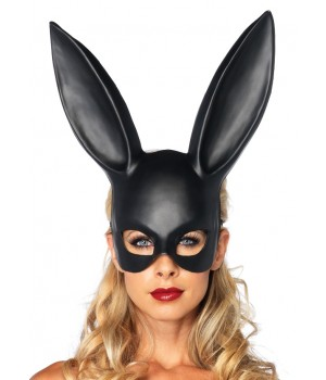 Bunny Masquerade Mask in Black Cosplay Costume Closet Halloween Shop Halloween Cosplay Costumes | Kids, Adult & Plus Size Halloween Costumes