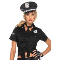 Police Woman Costume Shirt