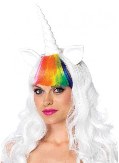 Unicorn Cosplay Costume Wig and Tail Set at Cosplay Costume Closet Halloween Shop, Halloween Cosplay Costumes | Kids, Adult & Plus Size Halloween Costumes