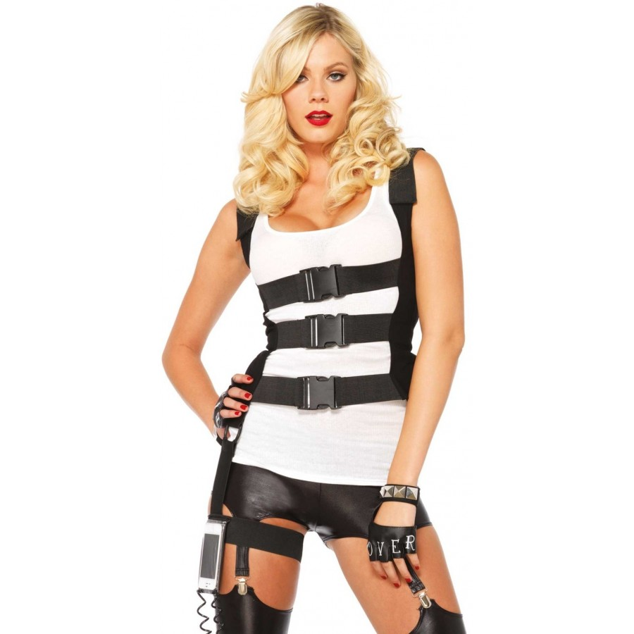 sc 1 st  Cosplay Costume Closet & SWAT Body Harness with Phone Case