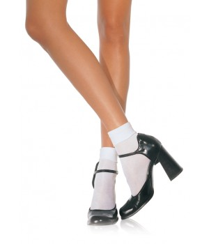 White Cuffed Anklets for Women Cosplay Costume Closet Halloween Cosplay Costumes | Kids, Adult & Plus Size Halloween Costumes