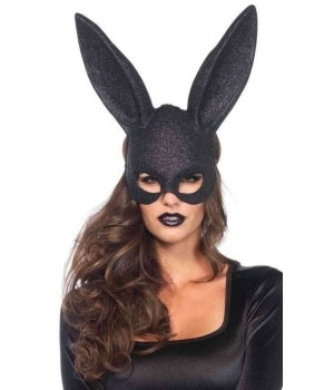 Bunny Black Glitter Masquerade Mask Cosplay Costume Closet Halloween Shop Halloween Cosplay Costumes | Kids, Adult & Plus Size Halloween Costumes