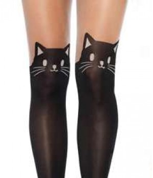 Adorable Black Kitty Cat Pantyhose 3 Pack Cosplay Costume Closet Halloween Shop Halloween Cosplay Costumes | Kids, Adult & Plus Size Halloween Costumes