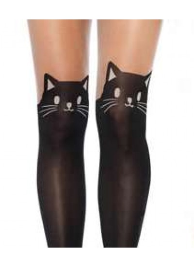 Adorable Black Kitty Cat Pantyhose 3 Pack at Cosplay Costume Closet Halloween Shop, Halloween Cosplay Costumes | Kids, Adult & Plus Size Halloween Costumes