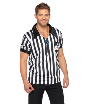 Good Call Adult Mens Referee Costume Cosplay Costume Closet Halloween Shop Halloween Cosplay Costumes | Kids, Adult & Plus Size Halloween Costumes