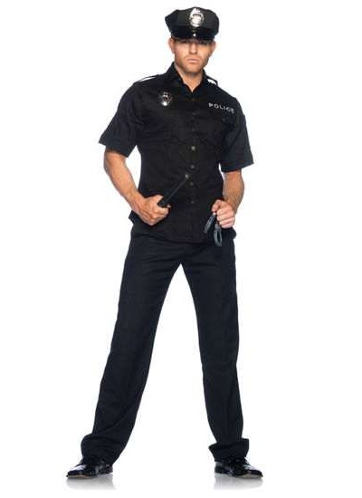 Cuff Em Cop Mens Adult Costume at Cosplay Costume Closet, Halloween Costumes for Kids and Adults | Cosplay, Party Decor