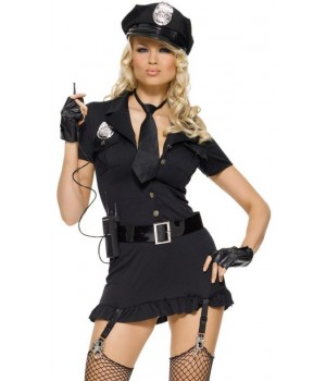 Dirty Cop Adult Womens Costume Cosplay Costume Closet Halloween Shop Halloween Cosplay Costumes | Kids, Adult & Plus Size Halloween Costumes