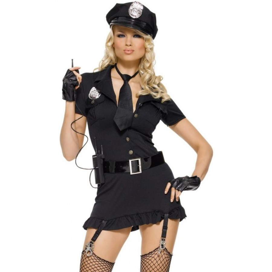 Dirty Cop Adult Womens Costume at Cosplay Costume Closet Halloween Cosplay Costumes | Kids  sc 1 st  Cosplay Costume Closet & Dirty Cop Adult Womens Costume | Halloween Costume