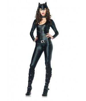 Feline Femme Fatale Adult Womens Costume Cosplay Costume Closet Halloween Shop Halloween Cosplay Costumes | Kids, Adult & Plus Size Halloween Costumes