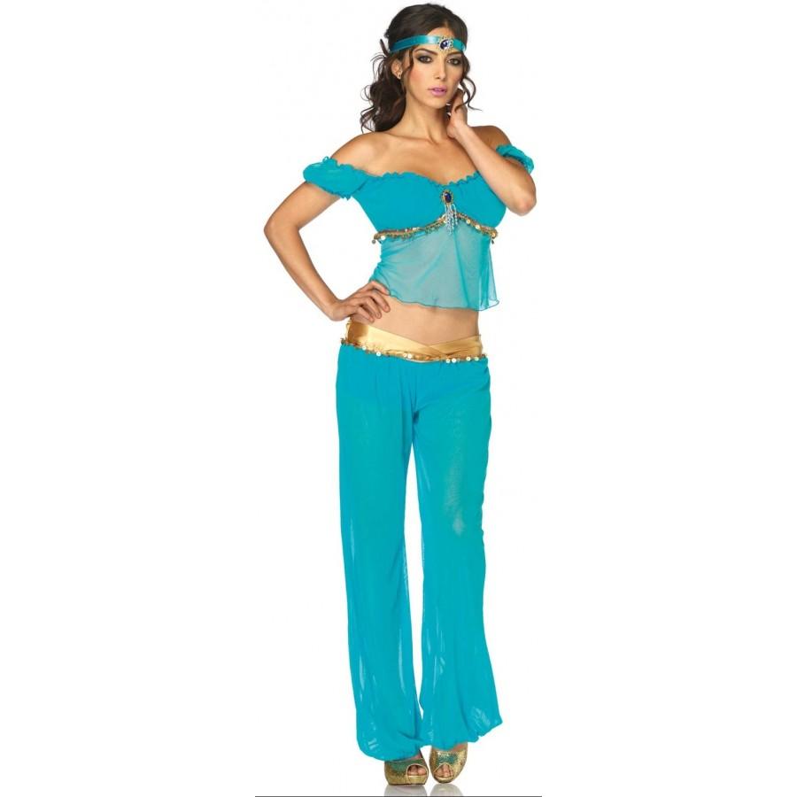 Arabian Beauty Womens Costume at Cosplay Costume Closet Halloween Costume Shop Halloween Cosplay Costumes |  sc 1 st  Cosplay Costume Closet & Arabian Beauty Womens Halloween Costume | Jasmine Costume