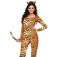 Wild Tigress Womens Kitty Costume