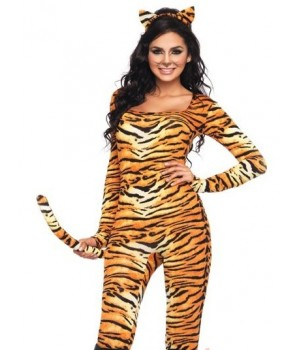 Wild Tigress Womens Kitty Costume Cosplay Costume Closet Halloween Costume Shop Halloween Cosplay Costumes | Kids, Adult & Plus Size Halloween Costumes