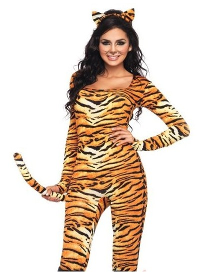 Wild Tigress Womens Kitty Costume at Cosplay Costume Closet Halloween Costume Shop, Halloween Cosplay Costumes | Kids, Adult & Plus Size Halloween Costumes