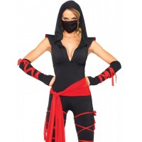 Stealth Ninja Adult Womens Costume