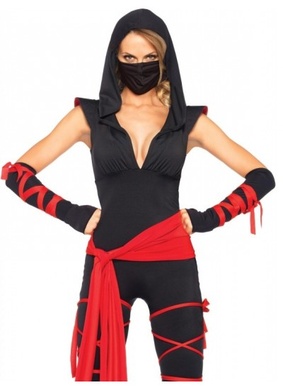 Stealth Ninja Adult Womens Costume at Cosplay Costume Closet Halloween Shop, Halloween Cosplay Costumes | Kids, Adult & Plus Size Halloween Costumes