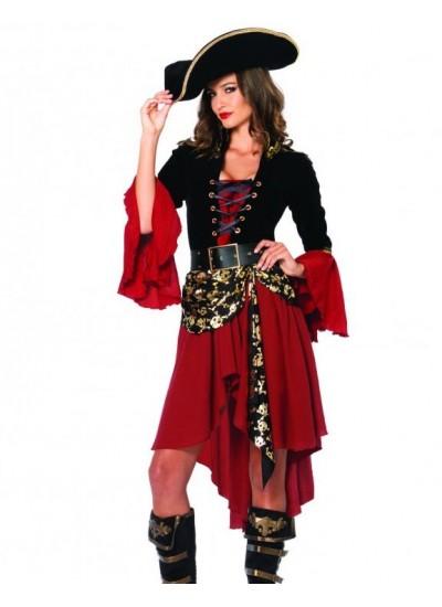 Cruel Seas Captain Pirate Costume at Cosplay Costume Closet Halloween Shop, Halloween Cosplay Costumes | Kids, Adult & Plus Size Halloween Costumes