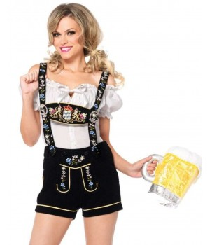 Edelweiss Womens Lederhosen Octoberfest Costume Cosplay Costume Closet Halloween Shop Halloween Cosplay Costumes | Kids, Adult & Plus Size Halloween Costumes