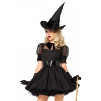 Bewitching Witch Vintage Inspired Halloween Costume