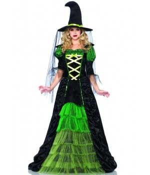 Storybook Witch Costume Gown Cosplay Costume Closet Halloween Shop Halloween Cosplay Costumes | Kids, Adult & Plus Size Halloween Costumes