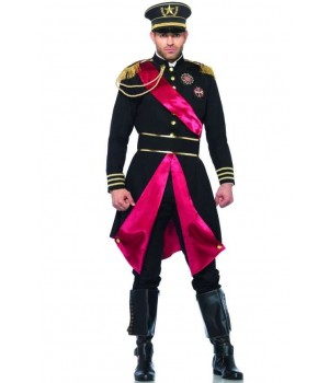 Military General Costume for Men Cosplay Costume Closet Halloween Shop Halloween Cosplay Costumes | Kids, Adult & Plus Size Halloween Costumes
