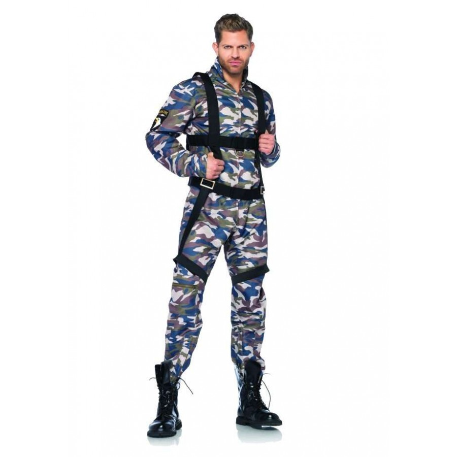paratrooper mens halloween costume at cosplay costume closet halloween costume shop halloween cosplay costumes