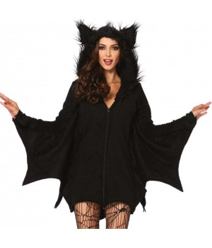 Cozy Bat Fleece Womens Halloween Costume Cosplay Costume Closet Halloween Shop Halloween Cosplay Costumes | Kids, Adult & Plus Size Halloween Costumes