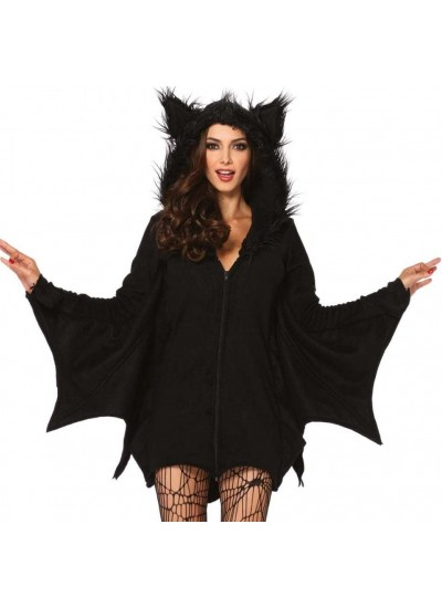 Cozy Bat Fleece Womens Halloween Costume at Cosplay Costume Closet Halloween Shop, Halloween Cosplay Costumes | Kids, Adult & Plus Size Halloween Costumes