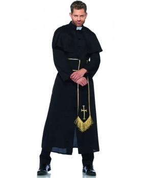Priest Mens Halloween Costume Cosplay Costume Closet Halloween Shop Halloween Cosplay Costumes | Kids, Adult & Plus Size Halloween Costumes
