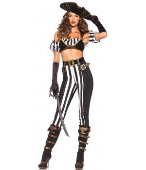 Black Beauty Pirate Costume for Women Cosplay Costume Closet Halloween Costume Shop Halloween Cosplay Costumes | Kids, Adult & Plus Size Halloween Costumes