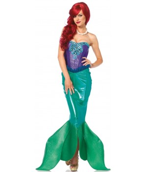 Fairytale Mermaid Deluxe Womens Costume Cosplay Costume Closet Halloween Shop Halloween Cosplay Costumes | Kids, Adult & Plus Size Halloween Costumes