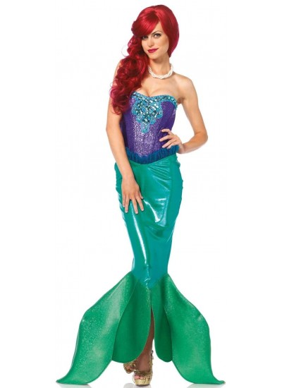 Fairytale Mermaid Deluxe Womens Costume at Cosplay Costume Closet, Halloween Cosplay Costumes Shop | Kids, Adult & Plus Size Costumes
