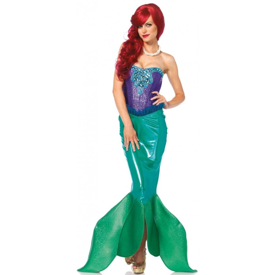 fairytale mermaid deluxe womens costume at cosplay costume closet halloween cosplay costumes kids - Mermaid Halloween Costume For Kids