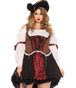 Ruthless Pirate Wench Plus Size Halloween Costume Cosplay Costume Closet Halloween Shop Halloween Cosplay Costumes | Kids, Adult & Plus Size Halloween Costumes