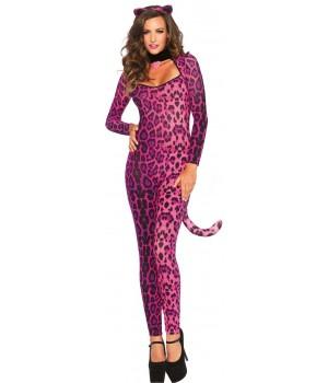 Pretty Pink Pussycat Womens Halloween Costume Cosplay Costume Closet Halloween Shop Halloween Cosplay Costumes | Kids, Adult & Plus Size Halloween Costumes