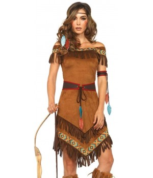 Native Princess Womens Halloween Costume Cosplay Costume Closet Halloween Shop Halloween Cosplay Costumes | Kids, Adult & Plus Size Halloween Costumes