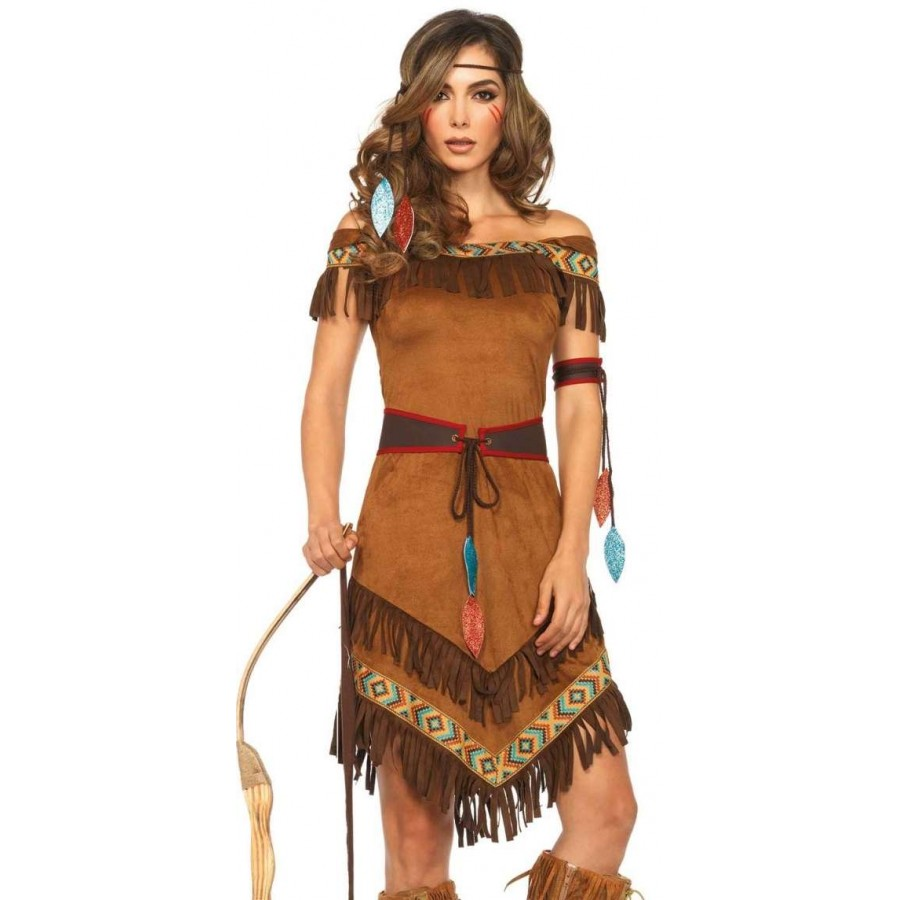 Native Princess Womens Halloween Costume at Cosplay Costume Closet Halloween Cosplay Costumes | Kids  sc 1 st  Cosplay Costume Closet & Native Princess Womens Halloween Costume | Indian Maiden