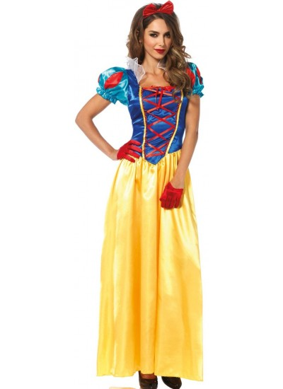 Classic Snow White Costume Gown at Cosplay Costume Closet Halloween Costume Shop, Halloween Cosplay Costumes | Kids, Adult & Plus Size Halloween Costumes